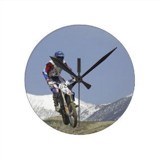 Idaho, Motocross Racing, Motorcycle Racing 2 Clocks