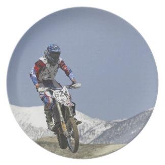 Idaho, Motocross Racing, Motorcycle Racing 2 Dinner Plate