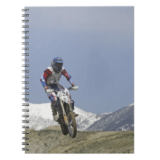 Idaho, Motocross Racing, Motorcycle Racing 2 Spiral Notebook