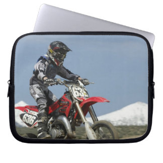 Idaho, Motocross Racing, Motorcycle Racing Laptop Sleeve