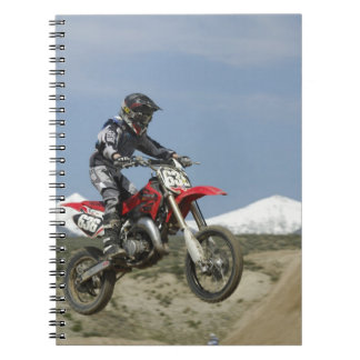 Idaho, Motocross Racing, Motorcycle Racing Notebook
