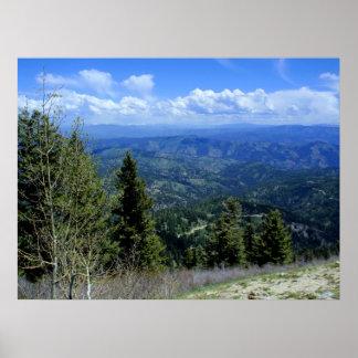 Idaho Mountain Grandeur Poster
