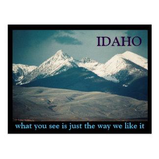 Idaho Mountains Postcard