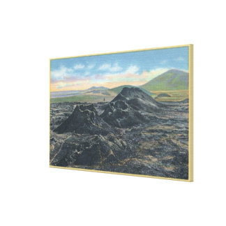 Idaho National Park Big Crater Rim Canvas Print