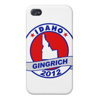 Idaho Newt Gingrich iPhone 4 Covers