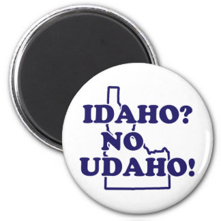 Idaho No Udaho Refrigerator Magnets