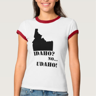 Idaho No Udaho Map T-Shirt