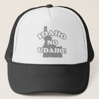 Idaho No Udaho Trucker Hat
