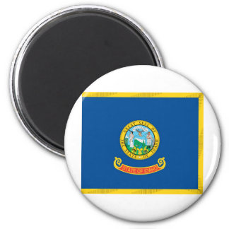 Idaho  Official State Flag 6 Cm Round Magnet