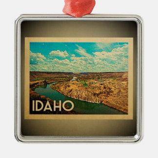 Idaho Ornament Vintage Travel