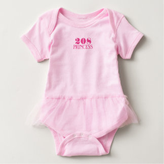 Idaho Princess Baby Bodysuit