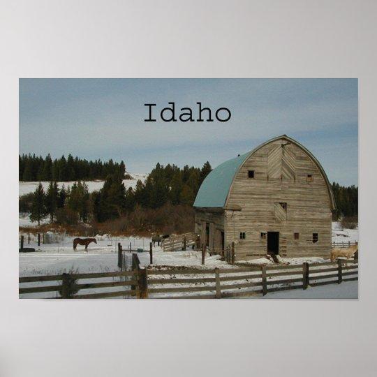 Idaho ~Print~ Poster