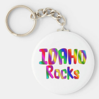 Idaho Rocks Key Ring