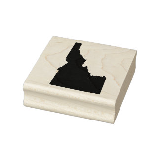 Idaho Solid Rubber Art Stamp