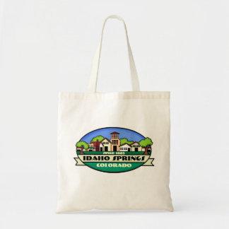 Idaho Springs Colorado small town reusable bag