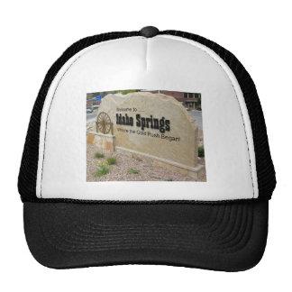 Idaho Springs, Colorado Welcome Sign Trucker Hats