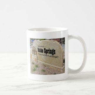 Idaho Springs, Colorado Welcome Sign Coffee Mug