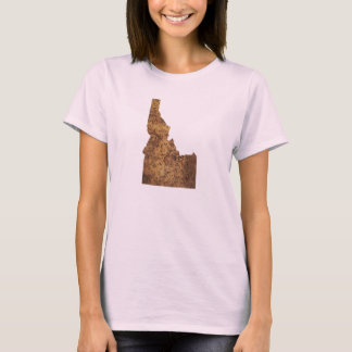 Idaho Spud Map T-Shirt