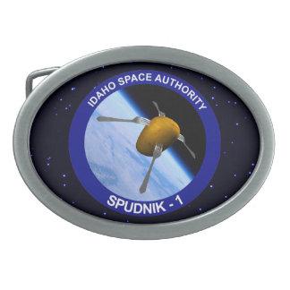 Idaho Spudnik Satellite Mission Patch Belt Buckles