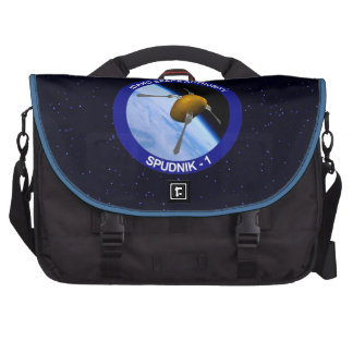 Idaho Spudnik Satellite Mission Patch Computer Bag