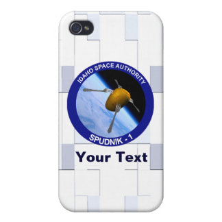 Idaho Spudnik Satellite Mission Patch Covers For iPhone 4