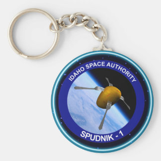 Idaho Spudnik Satellite Mission Patch Key Ring