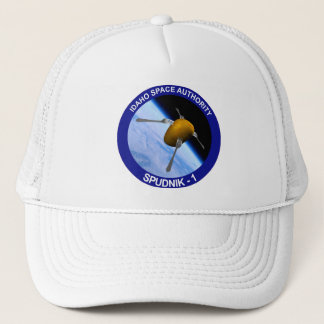 Idaho Spudnik Satellite Mission Patch Trucker Hat