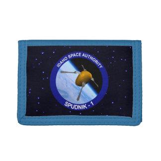 Idaho Spudnik Satellite Mission Patch Tri-fold Wallets