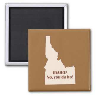 Idaho Square Magnet