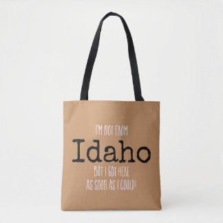 Idaho State Bag Souvenir Tote personalised