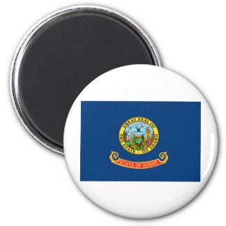 Idaho State Flag 6 Cm Round Magnet