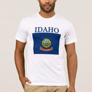 Idaho State Flag American Apparel T-shirt