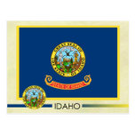 Idaho State Flag and Seal Post Cards