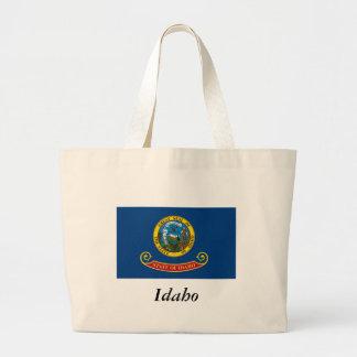Idaho State Flag Canvas Bags