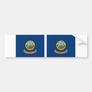 Idaho State flag Bumper Sticker