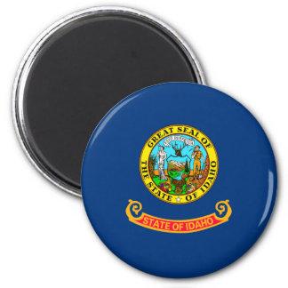 Idaho State Flag Design 6 Cm Round Magnet