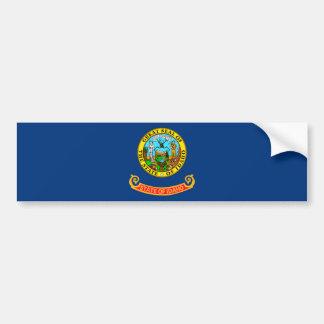 Idaho State Flag Design Bumper Sticker