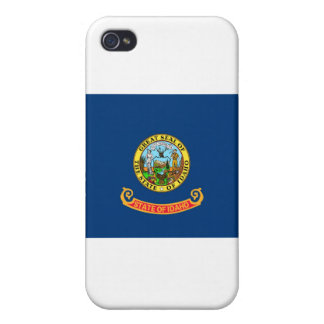 Idaho State Flag iPhone 4 Cases