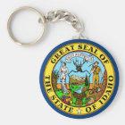 Idaho State Flag Key Ring