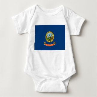 idaho state flag united america republic symbol baby bodysuit