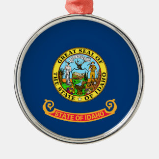 idaho state flag united america republic symbol christmas ornament