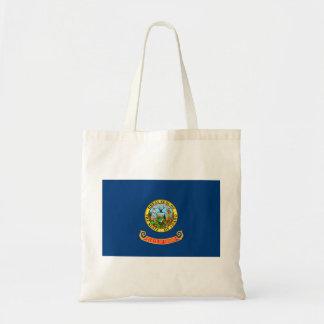 idaho state flag united america republic symbol tote bag