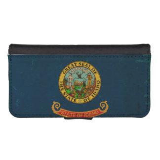 Idaho State Flag VINTAGE.png Phone Wallet Case