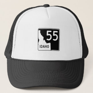 Idaho State Highway 55 Trucker Hat