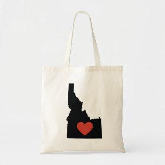 Idaho State Love Book Bag or Travel Tote