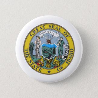 Idaho State Seal 6 Cm Round Badge