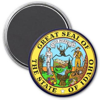 Idaho State Seal 7.5 Cm Round Magnet