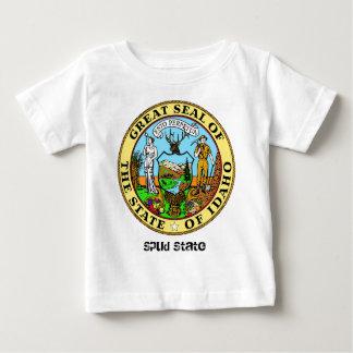 Idaho State Seal and Motto Baby T-Shirt