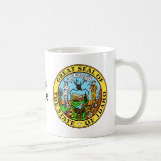 Idaho State Seal and Motto Coffee Mug