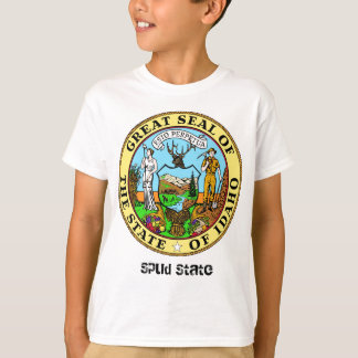 Idaho State Seal and Motto T-Shirt